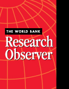 World Bank Research Observer : on